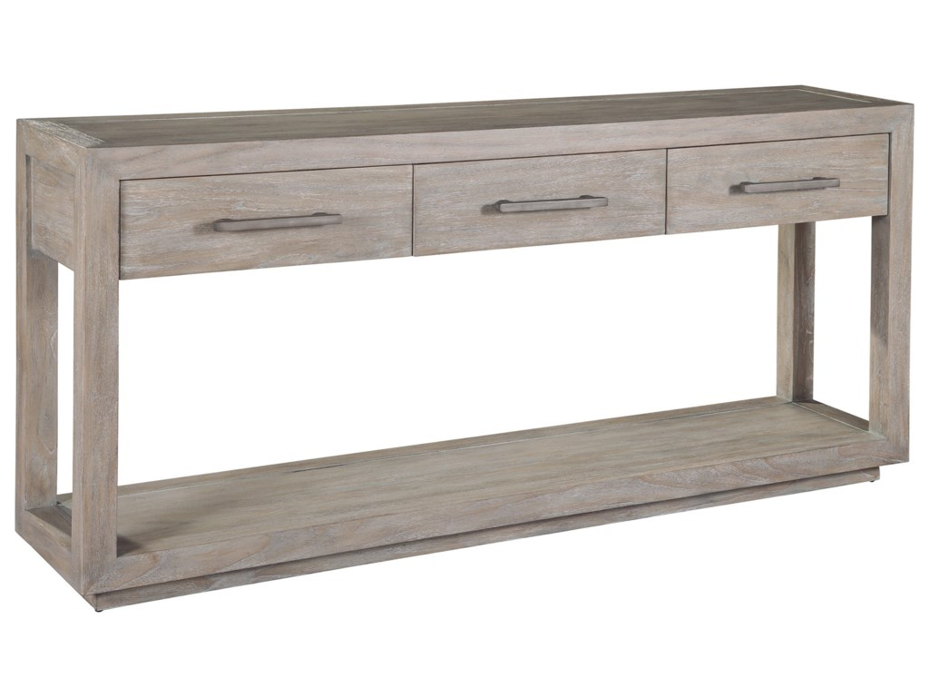 Hekman Berkeley Heights Sofa Table With Drawer Storage