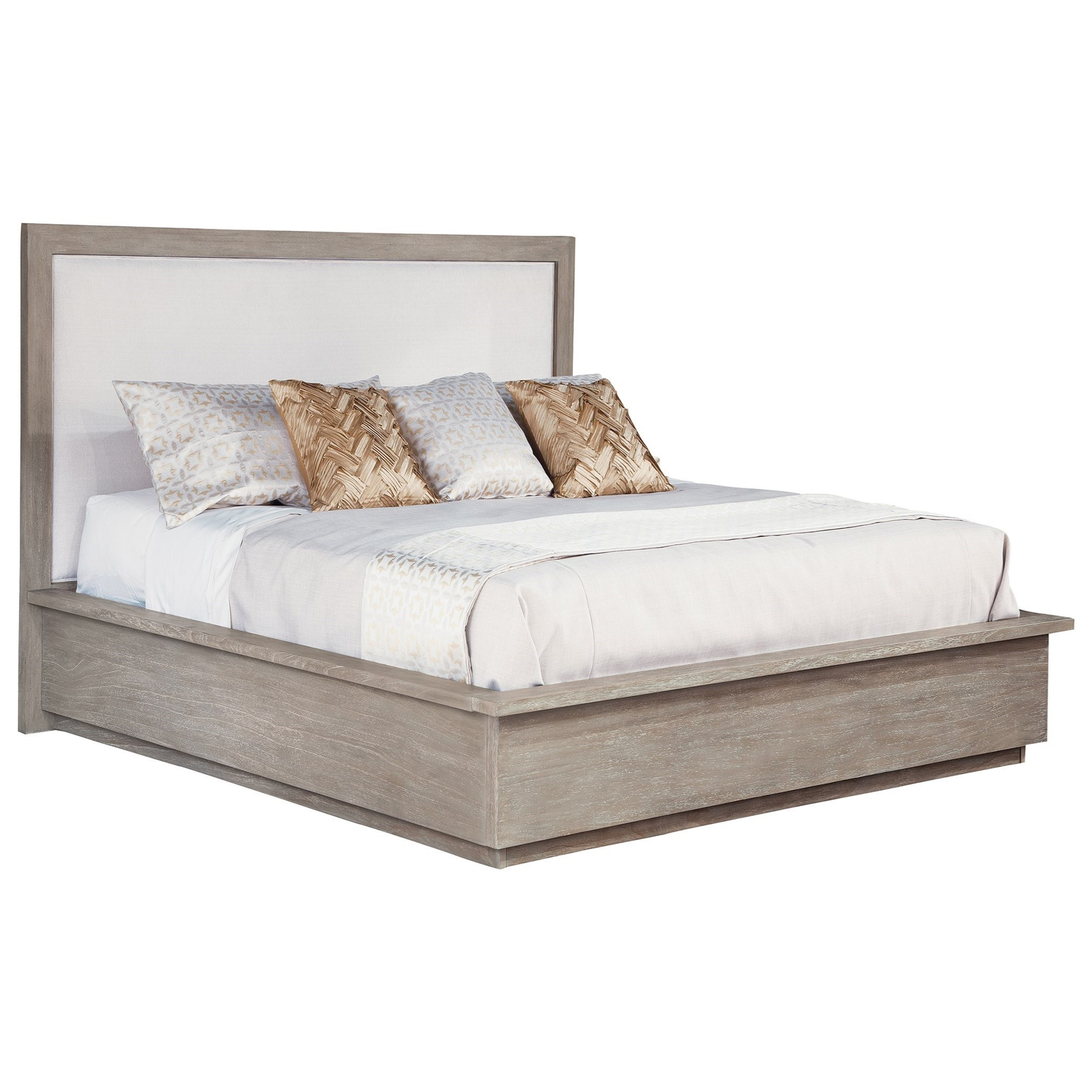 Hekman Berkeley Heights Upholstered Panel Queen Bed