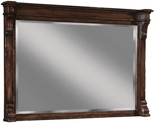 Hekman Charleston Place Mirror with Beveled Glass