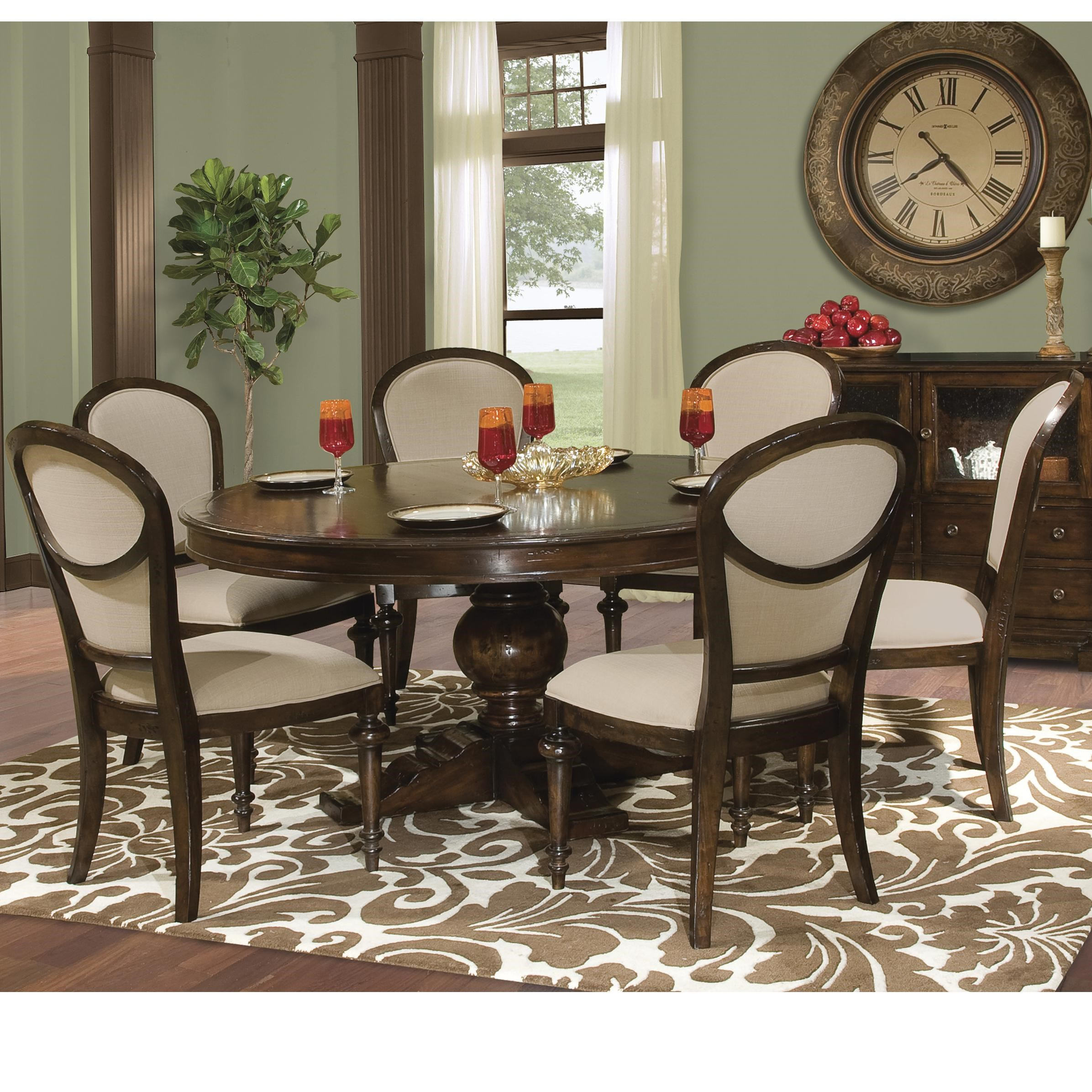 Hekman Charleston PlaceTable And Chair Set ...