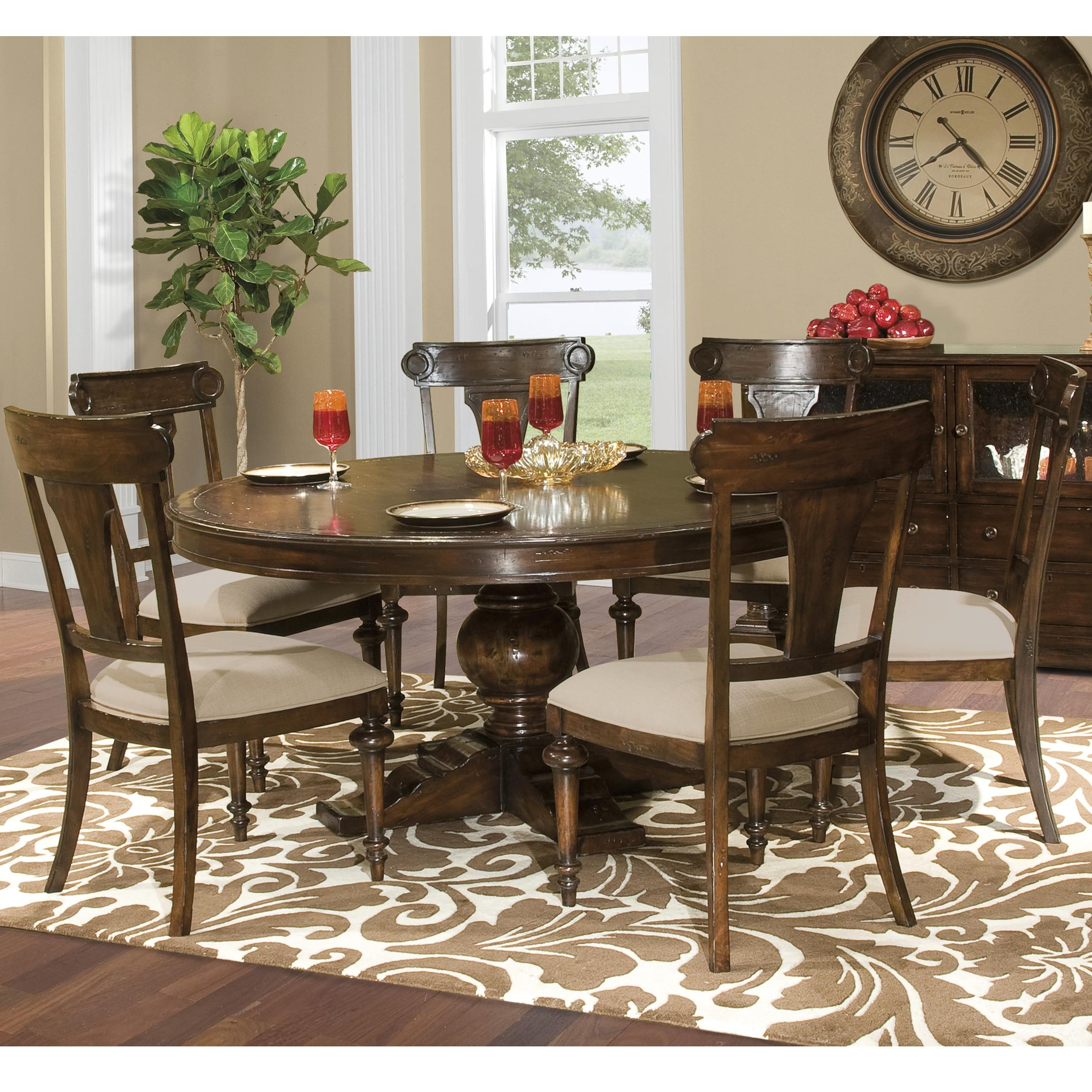 Hekman Charleston Place Table And Side Chair Set