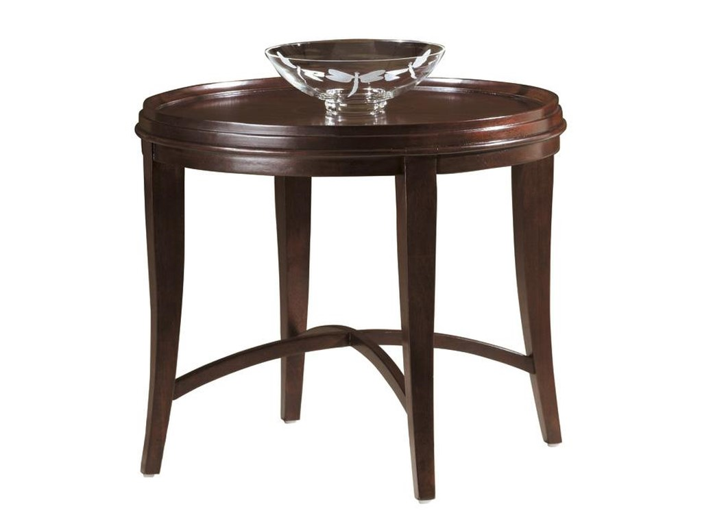Hekman MetropolisRound Lamp Table
