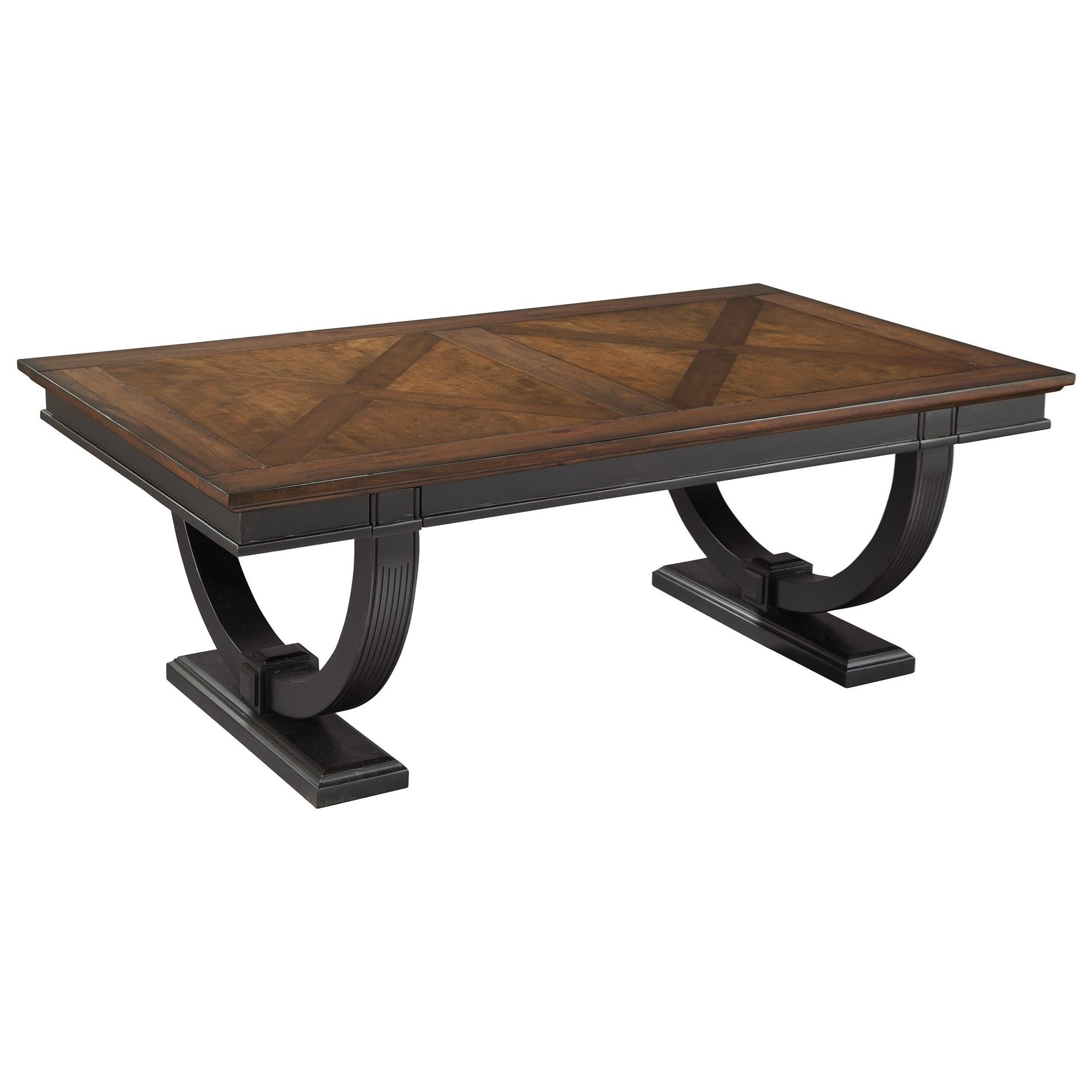 Beau Hekman Neo Classic Coffee Table With Two Tone Finish
