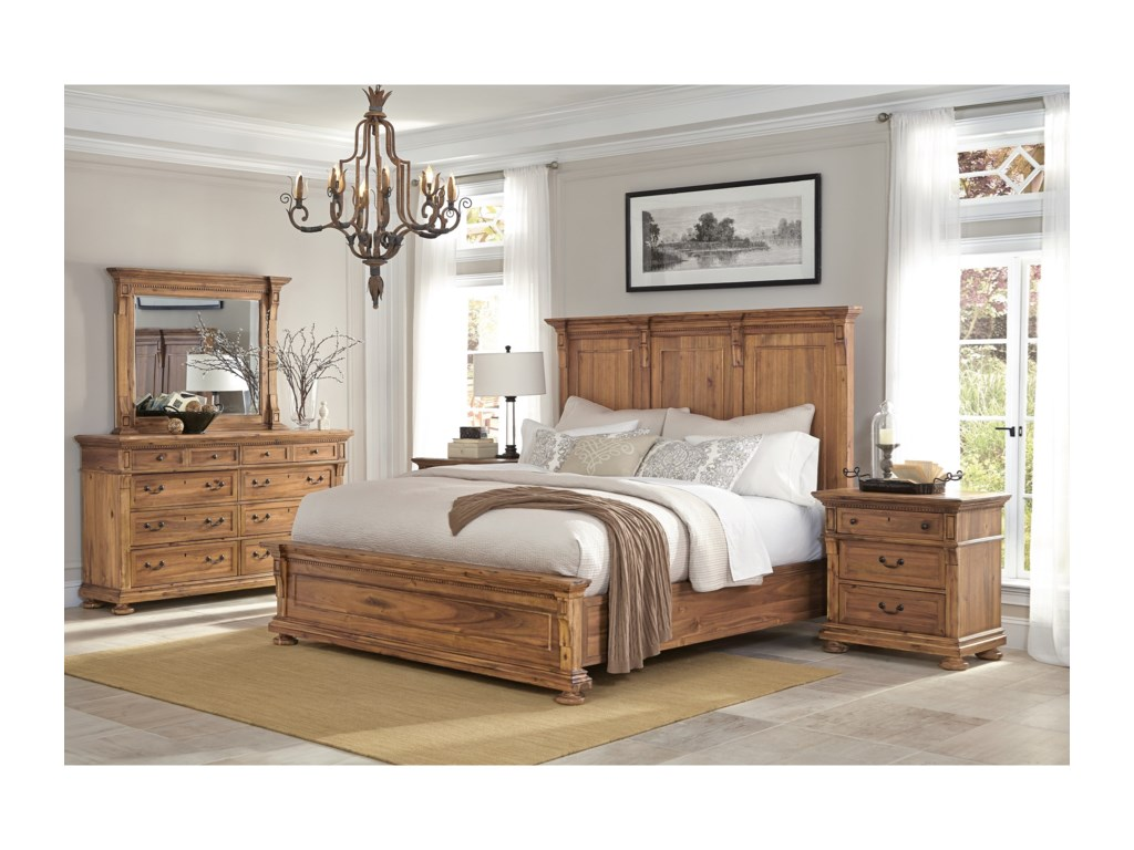 Hekman Wellington HallQueen Bedroom Group