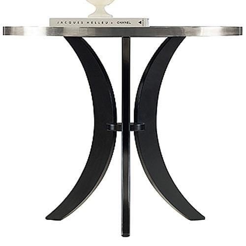 Henredon Acquisitions Paris Angeline Lamp Table with Paris Black Base