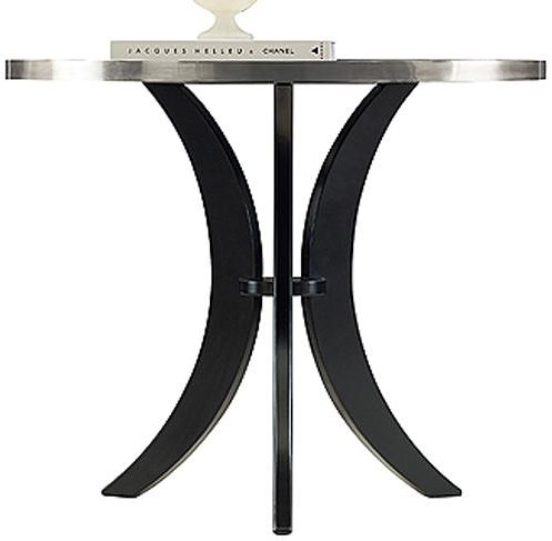Henredon Acquisitions Paris Angeline Lamp Table with Paris Black Base