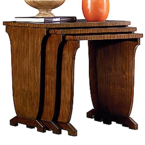 Henredon Acquisitions Paris Marietta Nesting Table with 3 Tables