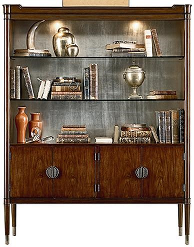 Henredon Acquisitions Paris Madelon Display Cabinet with 4 Shelves