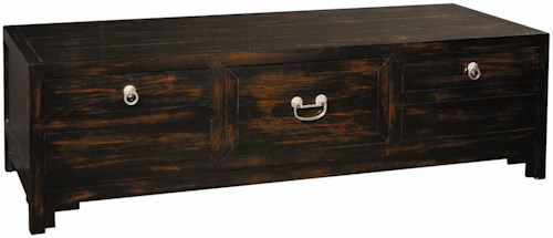 Henredon Acquisitions Cocktail Table with Three Drawers