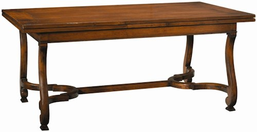 Henredon Acquisitions Rectangluar Dining Table with Two 30 Inch Leaves