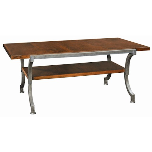 Henredon Acquisitions Cocktail Table with One Shelf