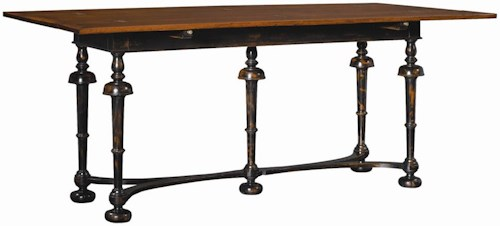 Henredon Acquisitions Console Table with Fold Out Top