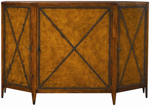 Henredon Acquisitions Credenza with Three Doors