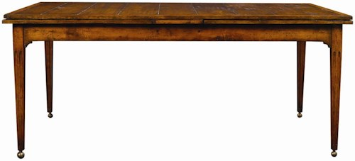Henredon Acquisitions Rectangular Dining Table with Two 30 Inch Leaves