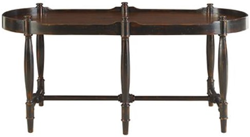 Henredon Acquisitions Cocktail Table with Tapered Legs