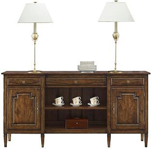 Henredon Acquisitions Sideboard with 3 Drawers and 3 Shelves