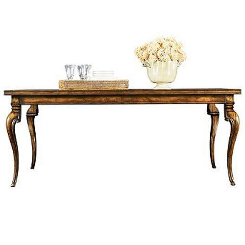 Henredon Acquisitions Dining Table with Cabriole Legs