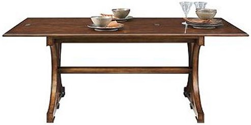 Henredon Acquisitions Flip Top Dining Table