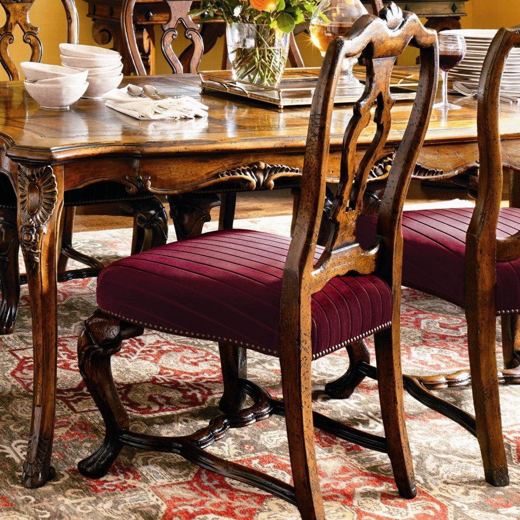 Henredon Castellina Torino Dining Side Chair Adcock Furniture