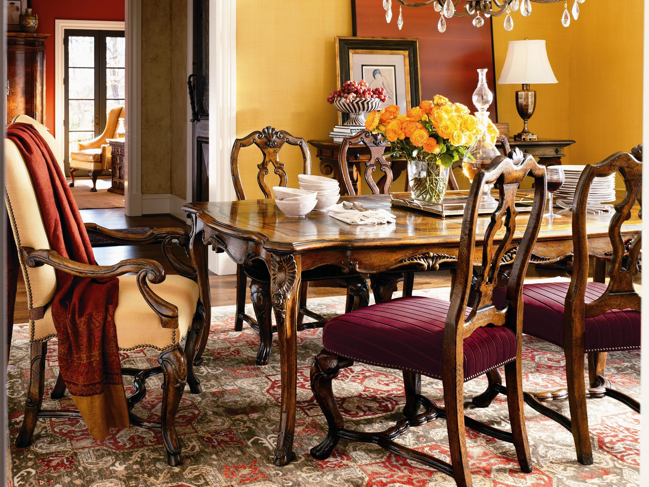 shown with the genoa arm chair u0026 st tropez dining table