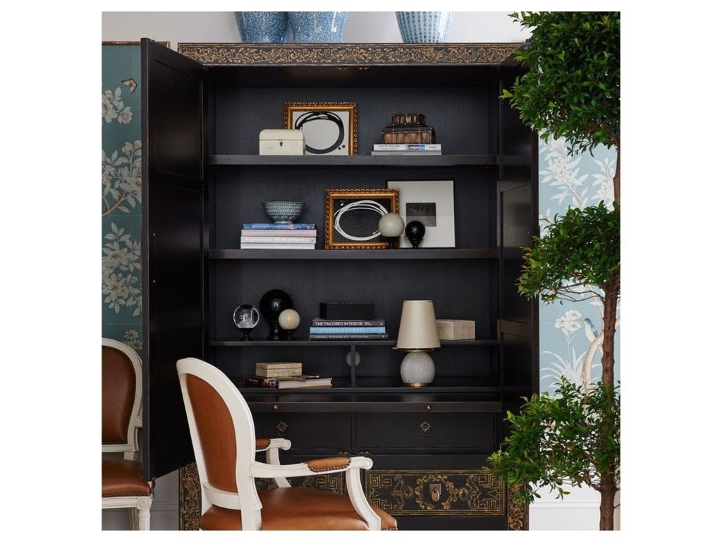 Henredon Mark D. SikesQueen's Road Chinoiserie Armoire