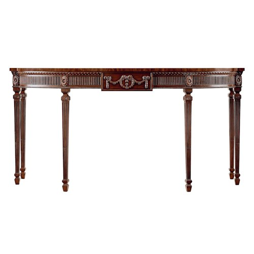 Henredon Oxford Classics Sofa Console Table
