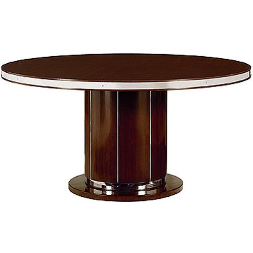 Henredon Scene Six Round Pedestal Dining Table - Sprintz Furniture ...