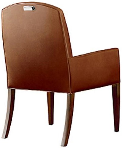 caab982e1a80e Henredon Scene Six Dining Arm Chair with Track Arms