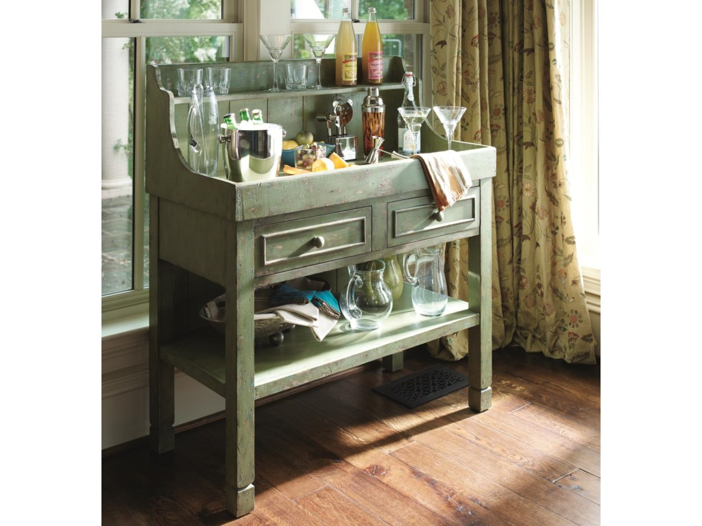 HGTV Home Furniture Collection Accents by HGTV HOMEGreen Dry Sink