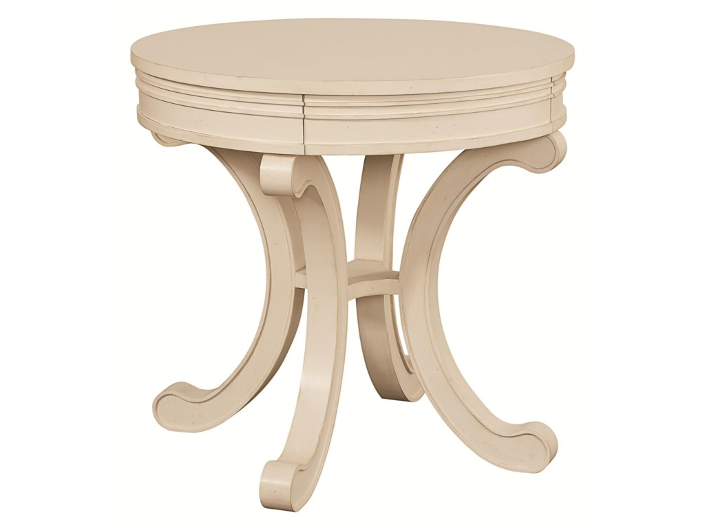 HGTV Home Furniture Collection Accents by HGTV HOMERound Accent Table