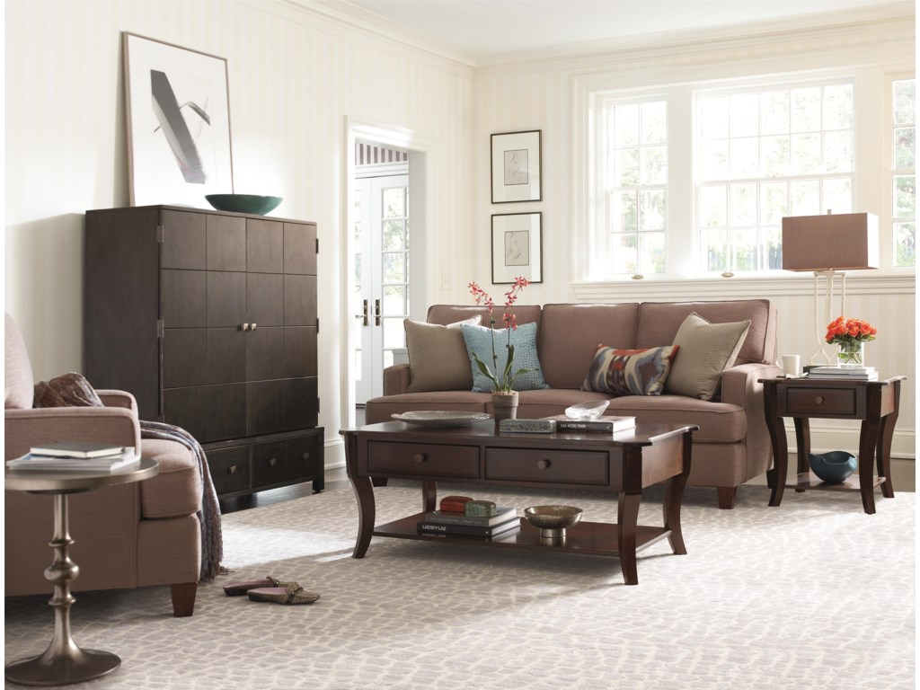 HGTV Home Furniture Collection Accents by HGTV HOMETextured Graphite Media Cabinet