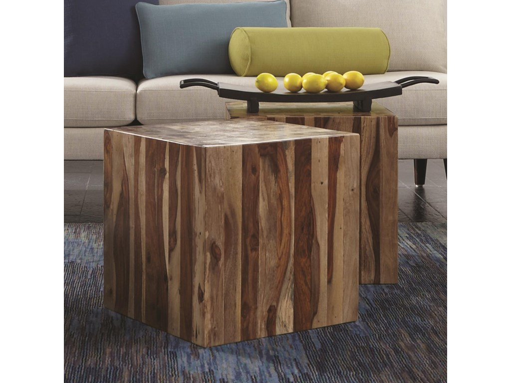 HGTV Home Furniture Collection Accents by HGTV HOMECubed Accent Table