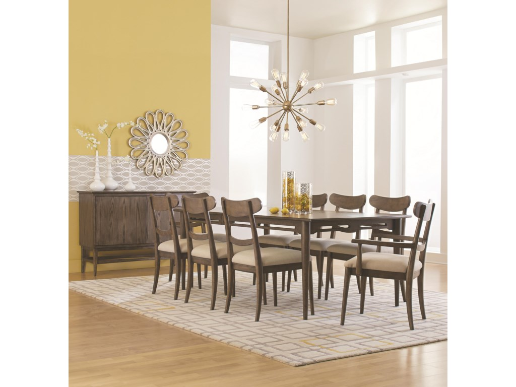 HGTV Home Furniture Collection City CenterLeg Dining Table Set