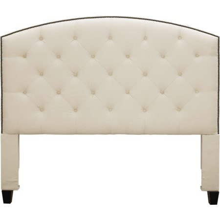 Upholstered Hdbd Twin