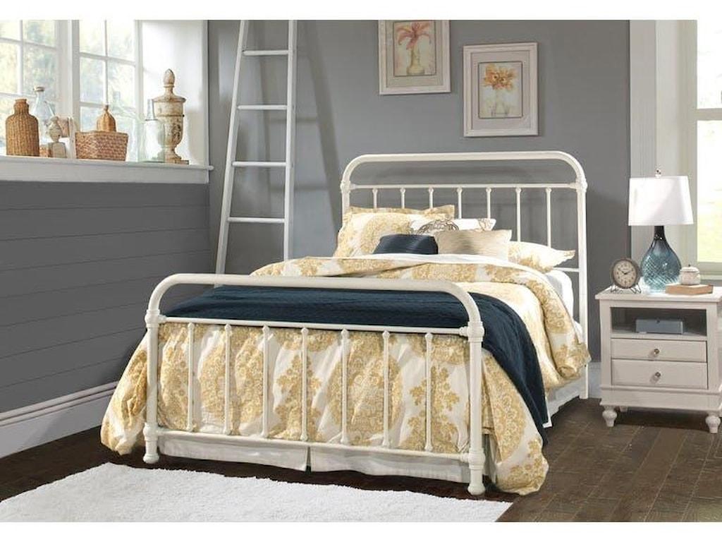 Hillsdale 1799Kirkland Twin Metal Bed