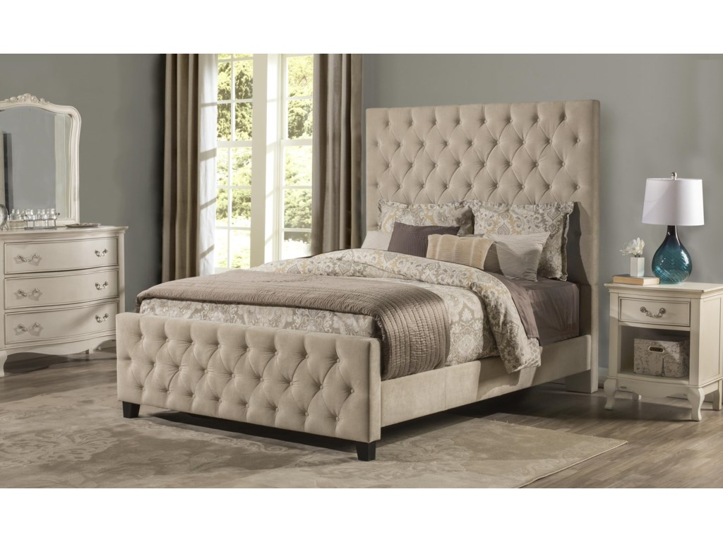 Hillsdale 2163Queen High Back Bed