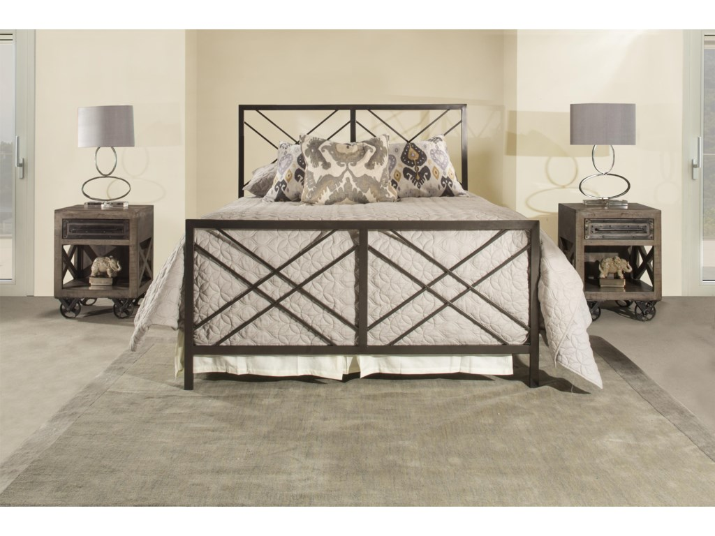 Hillsdale 2166Westlake Full Metal Bed