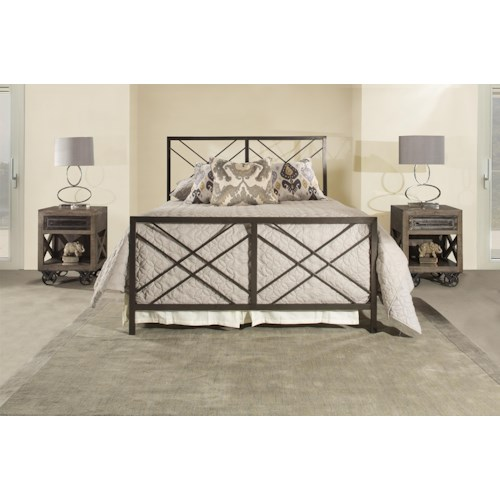 Hillsdale 2166 Queen Metal Bed