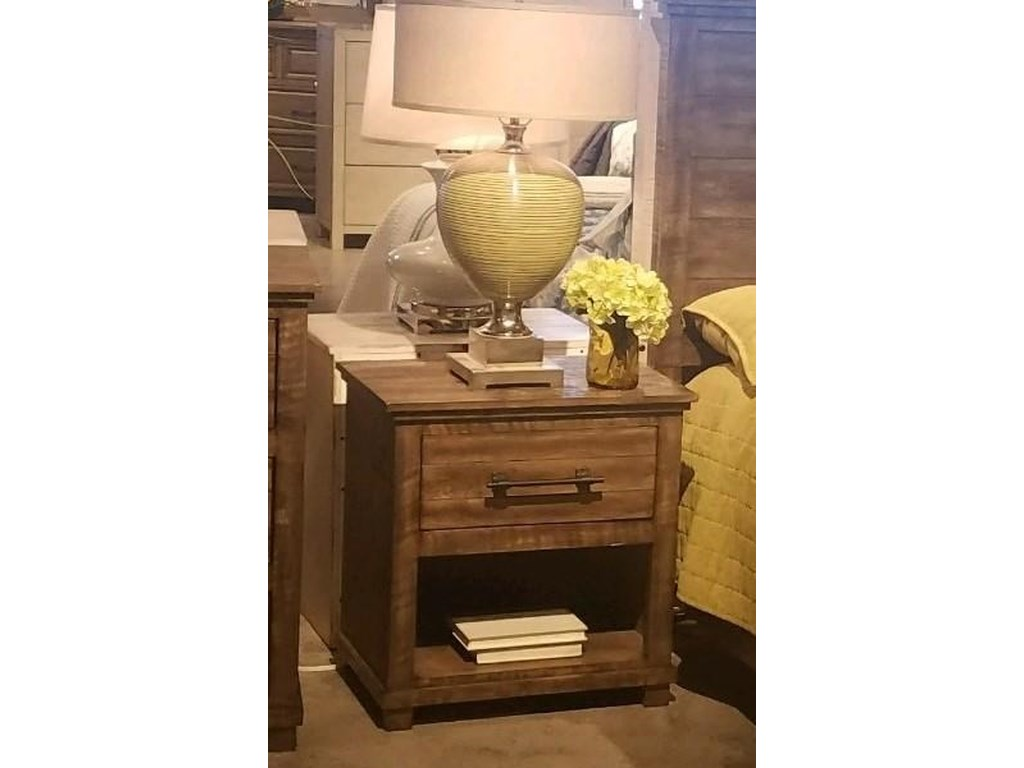 Hillsdale 2561 Villa LuccaTWO DRAWER NIGHTSTAND
