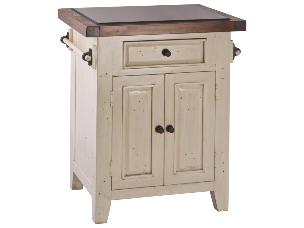 Hillsdale Tuscan RetreatSmall White Kitchen Island