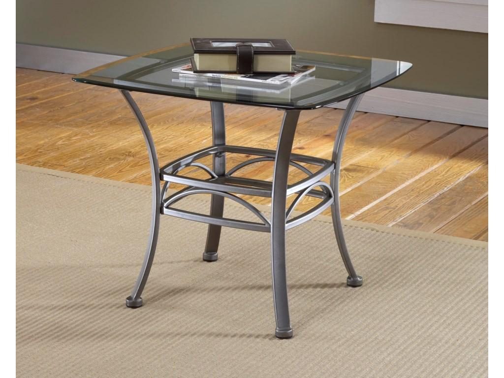 Morris Home AbbingtonSquare End Table