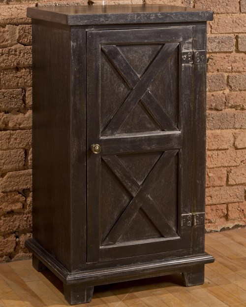 Hillsdale Accents X Design One Door Accent Cabinet