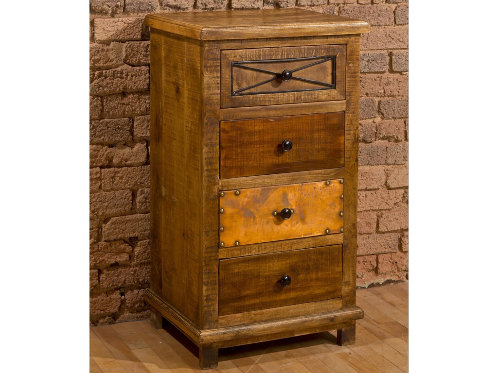 Morris Home AccentsFour Drawer Cabinet