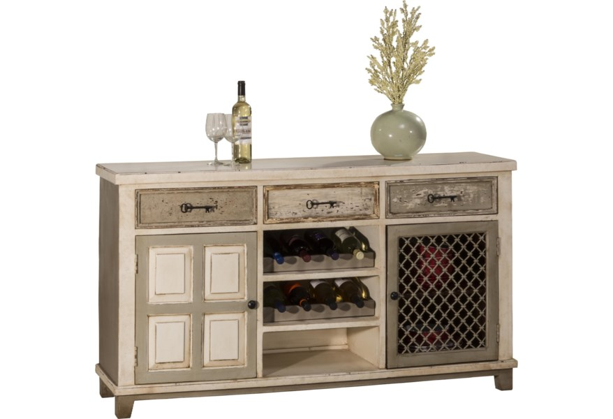 Hillsdale Accents 5808 866 Console Table With Two Storage Doors