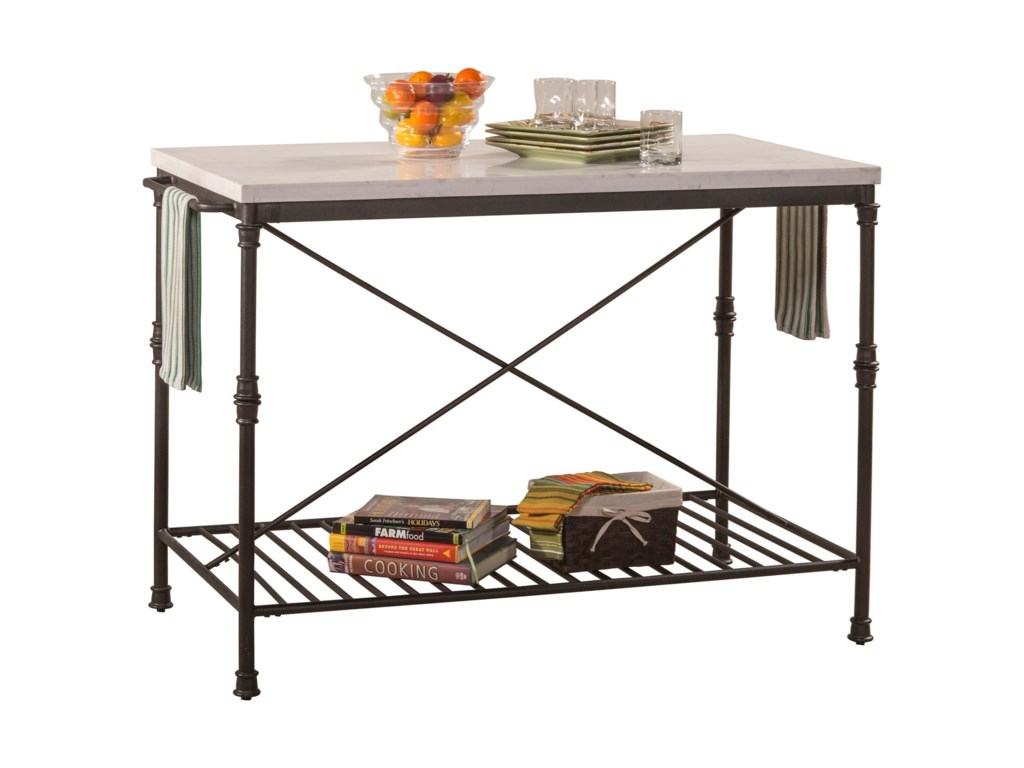Morris Home AccentsMetal Kitchen Island
