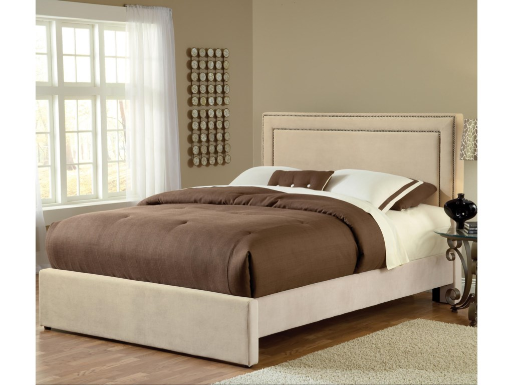 Hillsdale Amber BuckwheatKing Bed Set with Rails