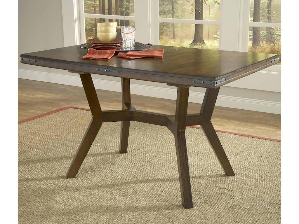 Hillsdale Arbor HillRectangular Leg Extension Dining Table