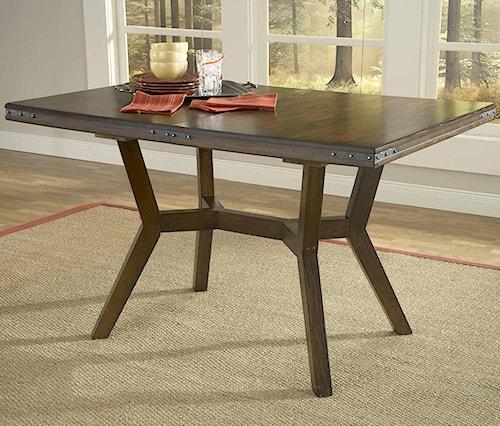 Hillsdale Arbor Hill Rectangular Leg Extension Dining Table