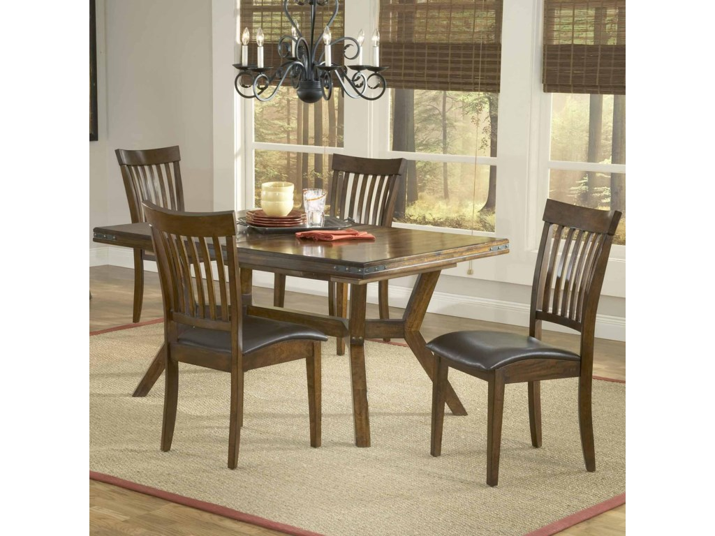 Shown with Coordinating Side Chairs as Five Piece Set
