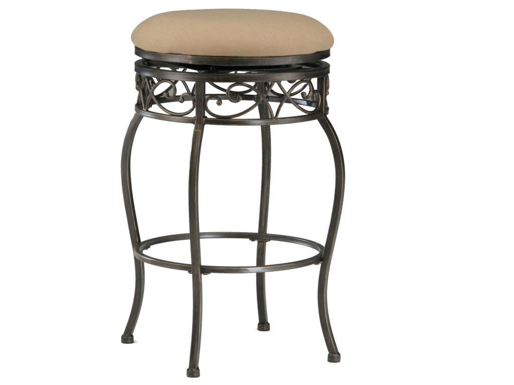 Backless Lincoln Swivel Bar Stool Shown May Not Represent Height Indicated